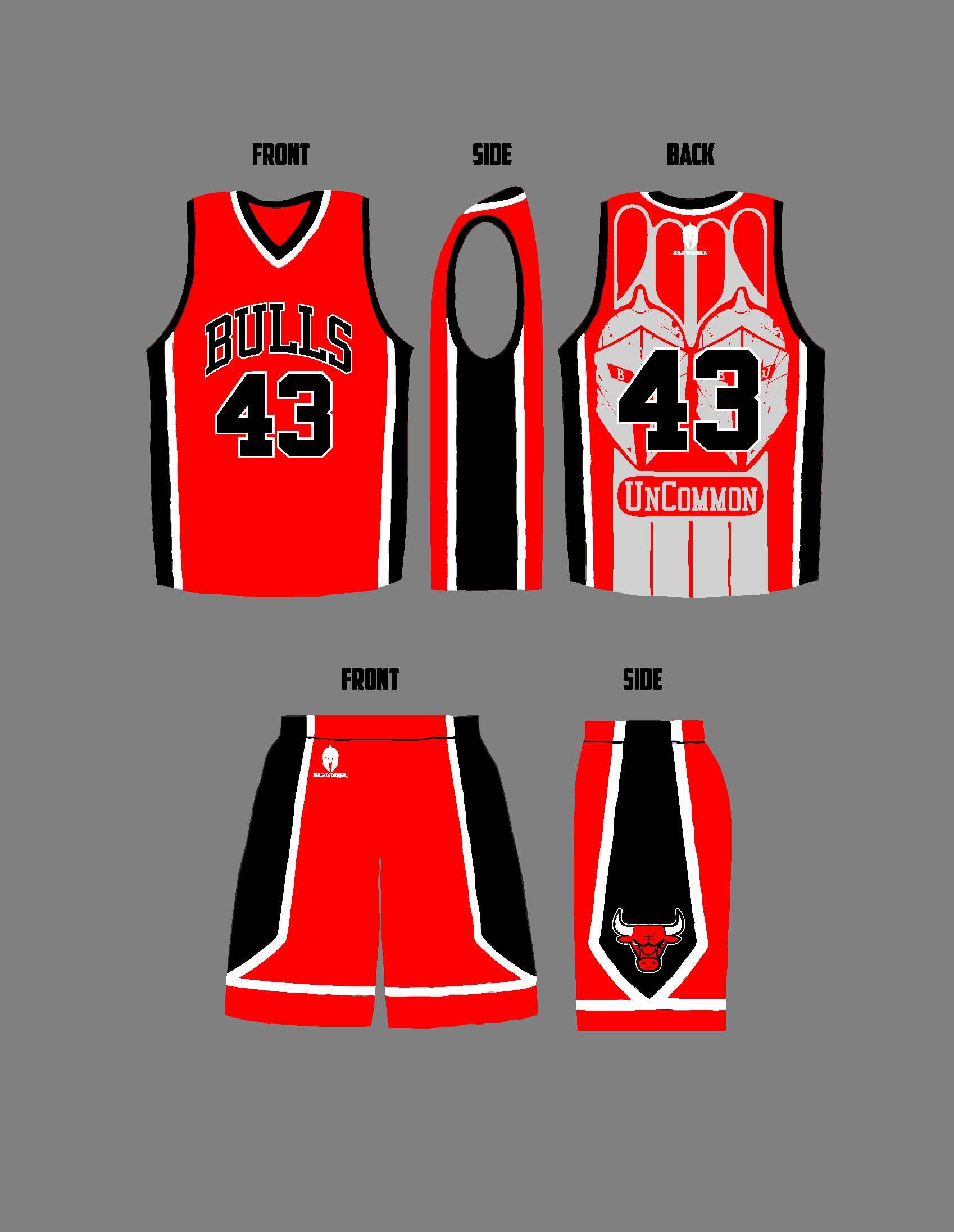 Bulls Away Uniform